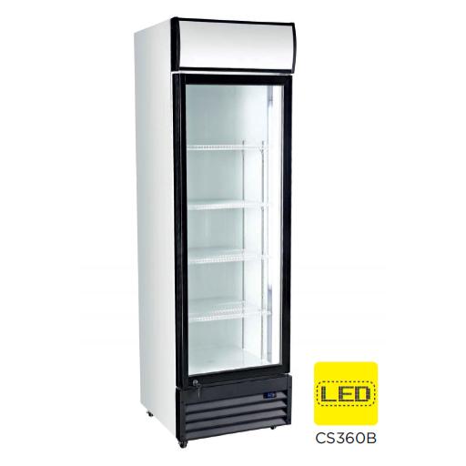 Armario expositor refrigerado puerta vidrio modelo CH CS360B
