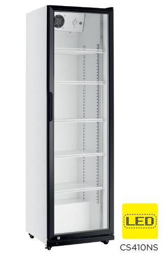 Armario expositor refrigerado puerta de vidrio modelo CH CS410NS