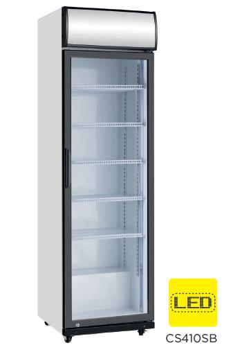Armario expositor refrigerado puerta de vidrio modelo CH CS410SB