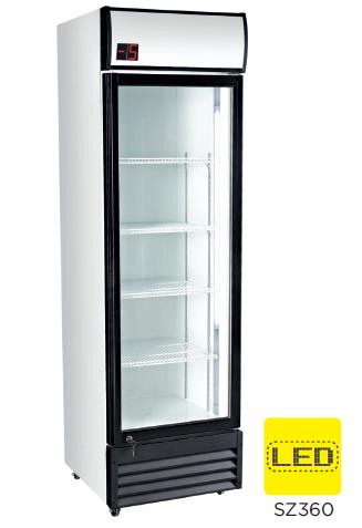 Armario expositor refrigerado subcero puerta vidrio modelo CH SZ360
