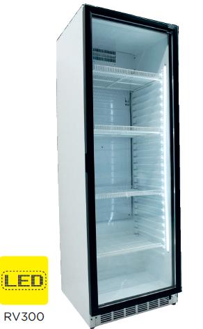 Armario expositor refrigerado puerta de vidrio modelo CH RV300