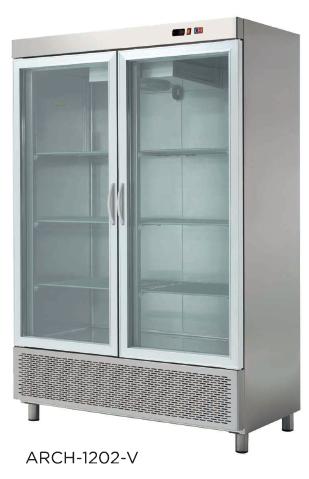 Armario refrigerado doble modelo CH ARCH-1202V