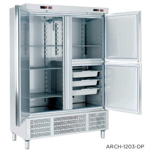 Armario refrigerado con departamento de pescado modelo CH ARCH-1203-DP [0]