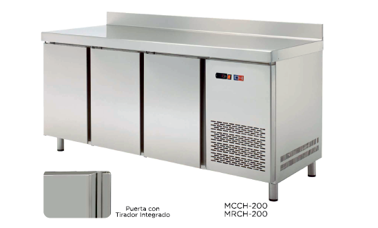 Mesa mural refrigerada modelo CH MRCH-150