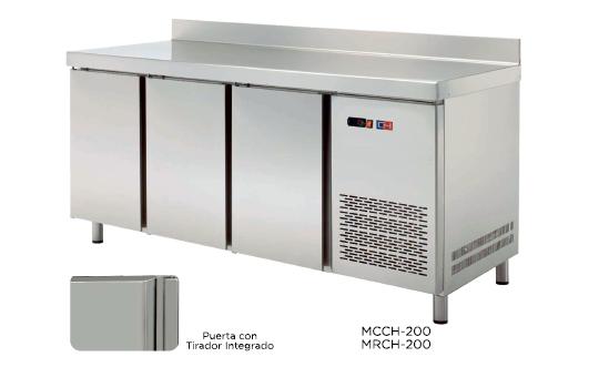 Mesa mural refrigerada modelo CH MRCH-200