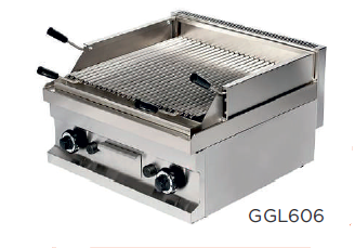 Barbacoa a gas piedra volcánica modelo CH GGL606