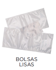 Bolsas de vacío lisas para envasadoras de campana modelo CH VACIO8