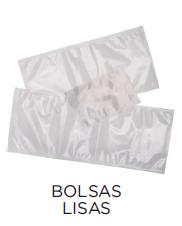 Bolsas de vacío lisas para envasadoras de campana modelo CH VACIO13