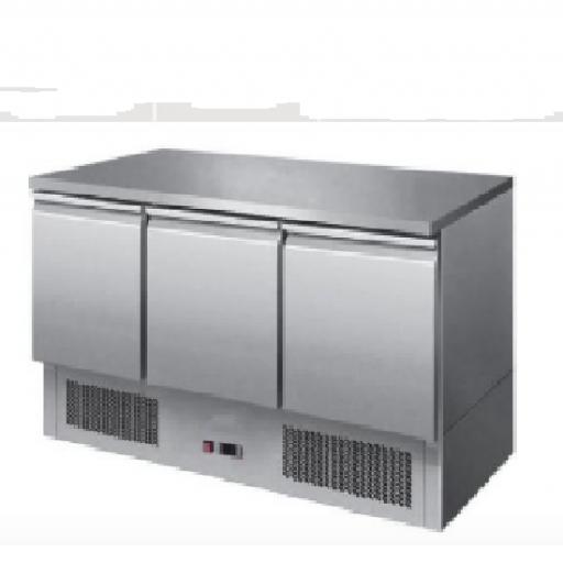 Bajomostrador Refrigerado mod. MHRY-S903 S/S TOP
