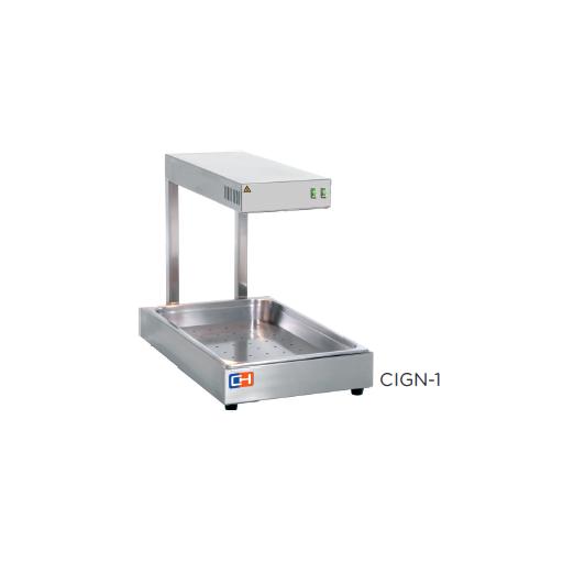 Calentador de fritos por radiación de infrarrojos modelo CH CIGN-1