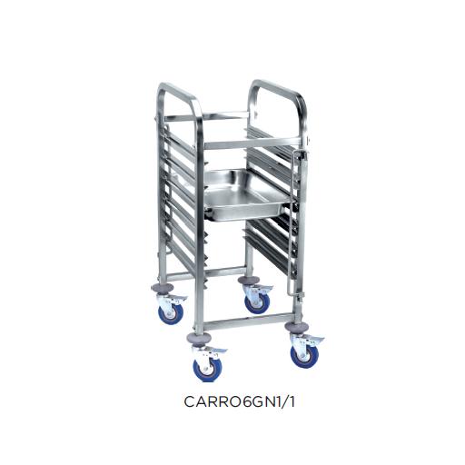 Carro bandejero modelo CH CARRO6GN1/1