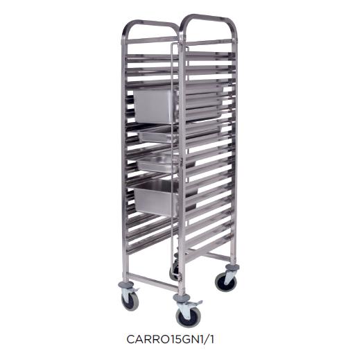 Carro bandejero modelo CH CARRO15GN1/1