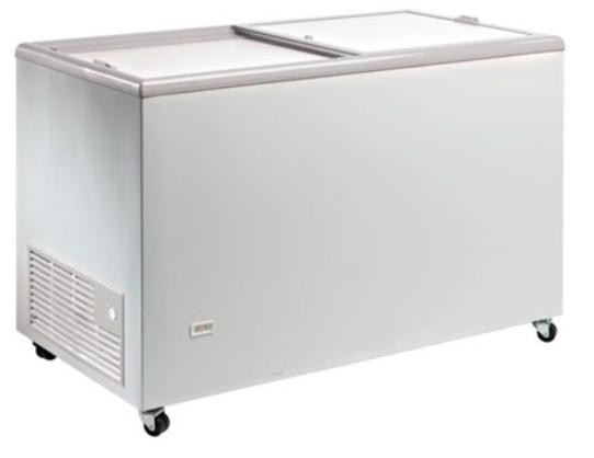 Congelador con puertas correderas ciegas conservadora de helado -18ºC / -24ºC modelo MQ TOS220