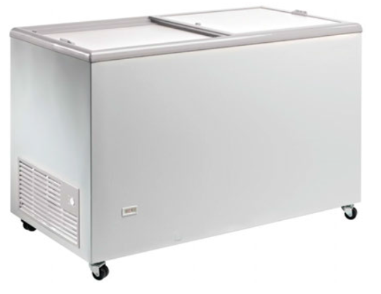 Congelador con puertas correderas ciegas conservadora de helado -18ºC / -24ºC  modeo MQ TOS400