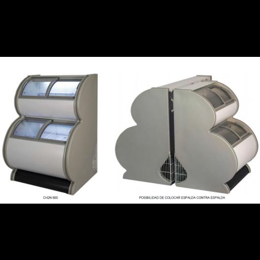 Congelador expositor impulso de 2 niveles -18ºC / -22ºC modelo MQ CH2N800 [0]