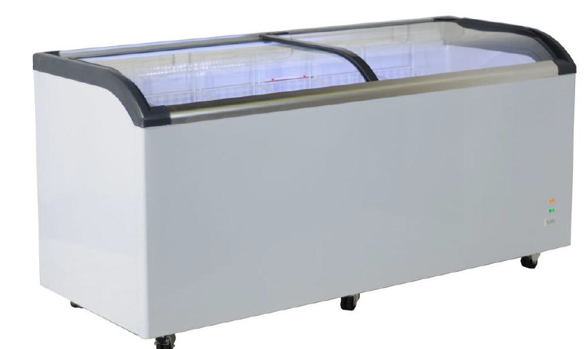 Mini isla de congelación con cristal curvo iluminación led -18ºC / -25ºC modelo MQ FR620PFC