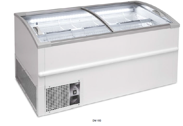 Isla de congelación / refrigeración - DM bitemperatura +5ºC / - 25ºC modelo MQ DM250
