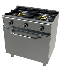 Cocina con horno de 2 fuegos Mod. CH 6201/1