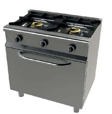 Cocina de 2 fuegos y horno con grill Mod. CH 6201G/1