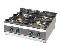 Cocina de sobremesa de 4 fuegos fondo 700 Mod. CHFO7N2OO