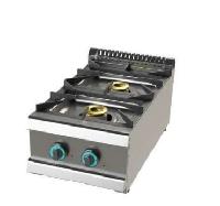Cocina de  sobremesa 2 fuegos de fondo 70 Mod. CH FO7N2OOB