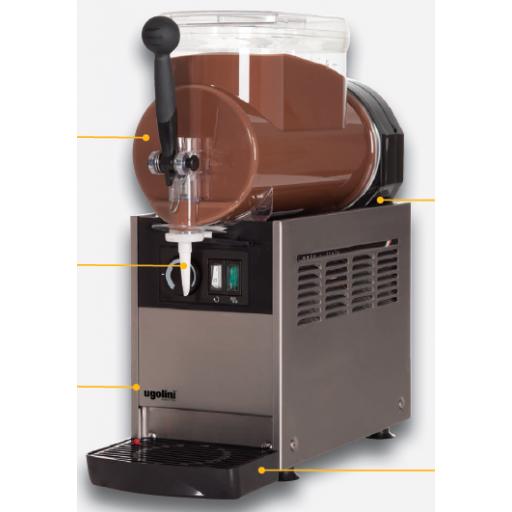 Distribuidor crema caliente ugolini modelo DF MICRO HOT