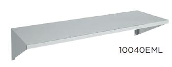 Estante mural liso fondo 400 modelo CH10040EML