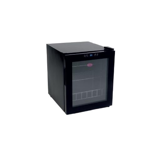 Armario de vino de una temperatura con puerta de vidrio modelo CH CV-17-B