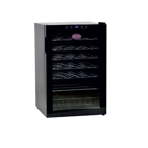 Armario de vino de una temperatura con puerta de vidrio modelo CH CV-40