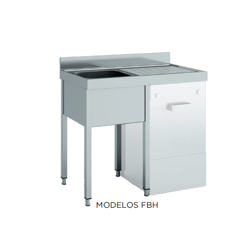 Fregadero especial lavavajillas desmontado fondo 600 modelo CH FBH146-C-E