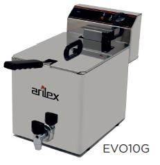 Freidora eléctrica con grifo de vaciado modelo CH EVOG