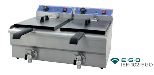 Freidora eléctrica modelo CH IEF - 102 - EGO