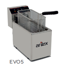 Freidora eléctrica sin grifo de vaciado modelo CH EVO5