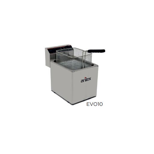 Freidora eléctrica sin grifo de vaciado modelo CH EVO10