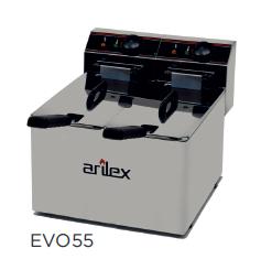 Freidora eléctrica sin grifo de vaciado modelo CH EVO55