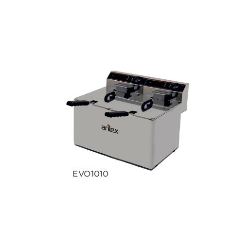 Freidora eléctrica sin grifo de vaciado modelo CH EVO1010