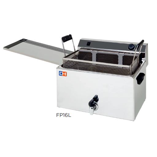 Freidora especial pastelería modelo CH FP16L