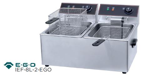 Freidora eléctrica modelo CH IEF - 8L - 2 - EGO