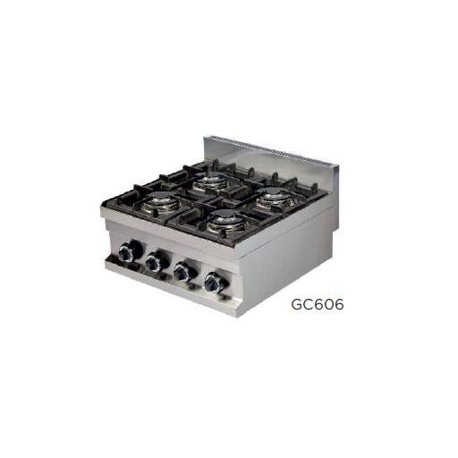 Frytops a gas modelo CH GG606