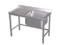 Fregadero Industrial Mod. MHF1600 X 600 X 850