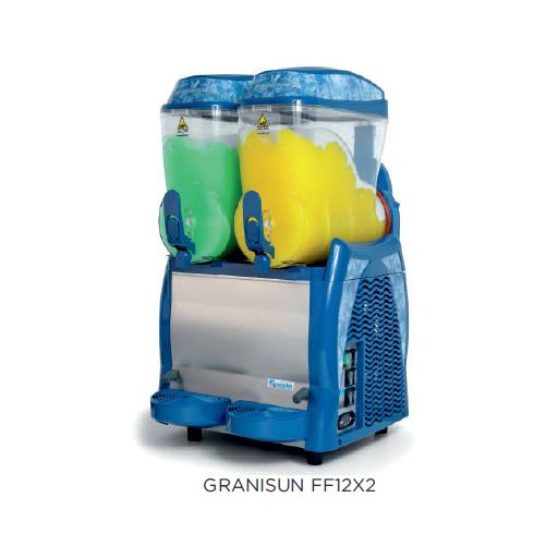 Granizadora graniSUN modelo CH GRANISUN FF12X2 Carpigiani