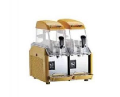 Granizadora de sobremesa de 2 cubas