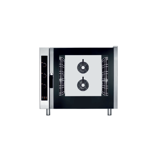 Horno eléctrico de convección control analógico bandejas GN con vapor modelo CH EKF621UD