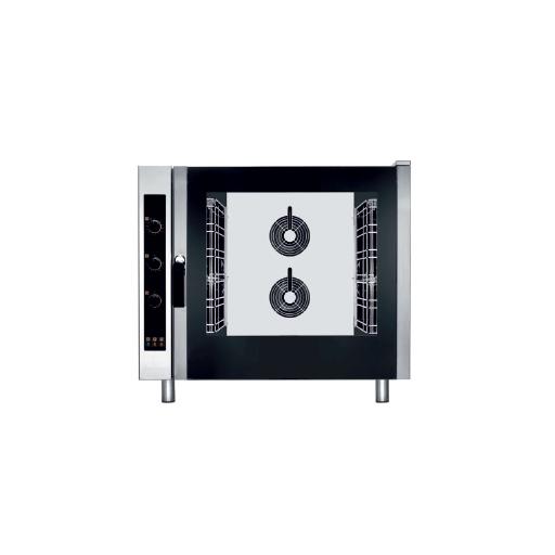 Hornor eléctrico de convección control electrónico bandejas GN con vapor modelo CH EKF621EUD