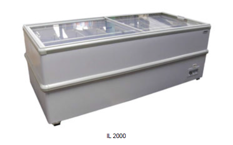 Isla de congelación -18ºC / - 22ºC modelo MQ IL1500