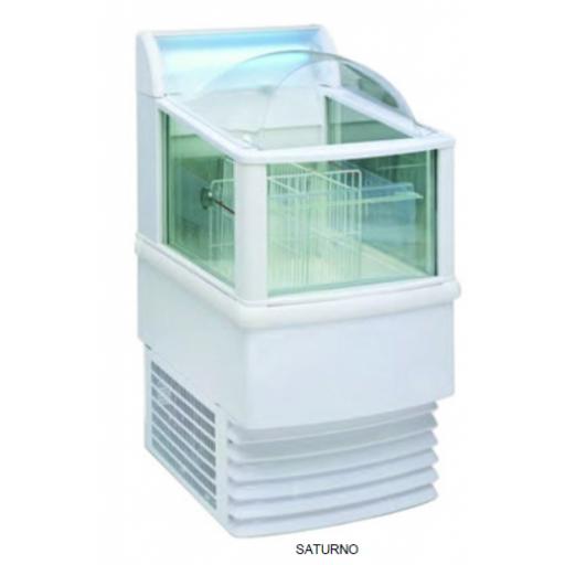 Expositor refrigeración / congelación - saturno bitemperatura +5ºC / -18ºC modelo MQ  SATURNO