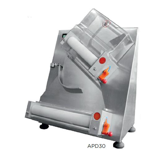 Laminadora formadora de pizza semiautomática modelo CH APD30