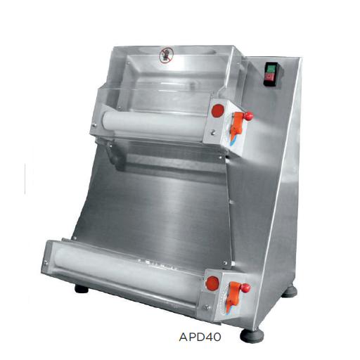 Laminadora formadora de pizza semiautomática modelo CH APD40