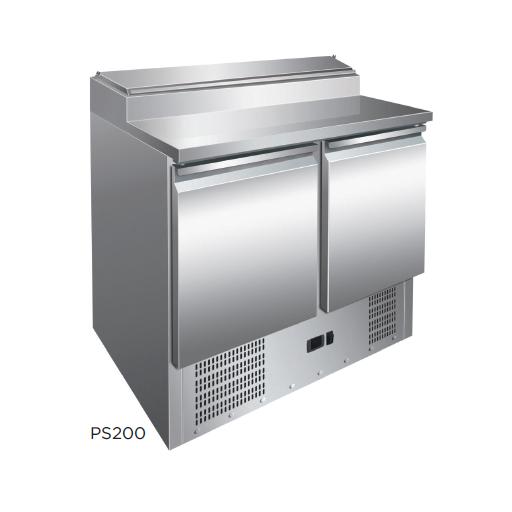Mesa preparación ensaladas fondo 700 modelo CH PS200