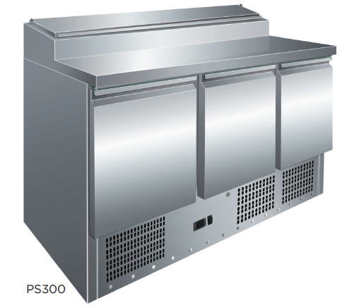 Mesa preparación ensaladas fondo 700 modelo CH PS300